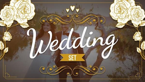Filmstocks Wedding Set | Filmora Effects