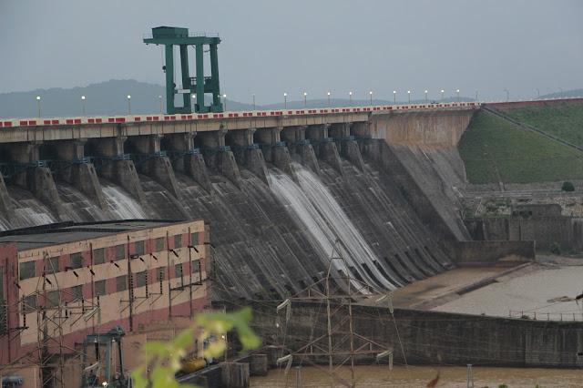 Hirakud Dam, Sambalpur, Odisha, India