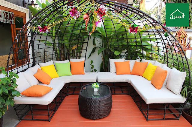 صور جلسات حدائق منزلية