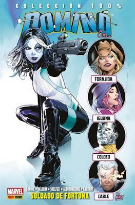 """Comic: Review de """"100% Marvel Dominó"""" Vol.2 de David Baldeón y Gail Simone - Panini Cómics"""