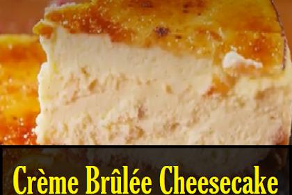 Best Crème Brûlée Cheesecake