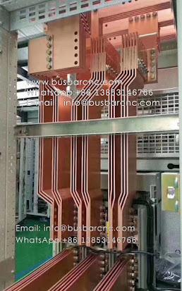 bending the copper busbar