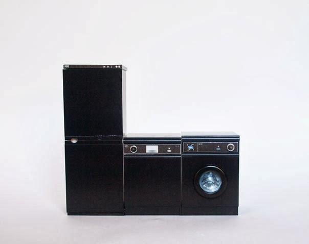 Miniaturas Modernas Electrodomesticos A La Ultima - Electrodomesticos-negros