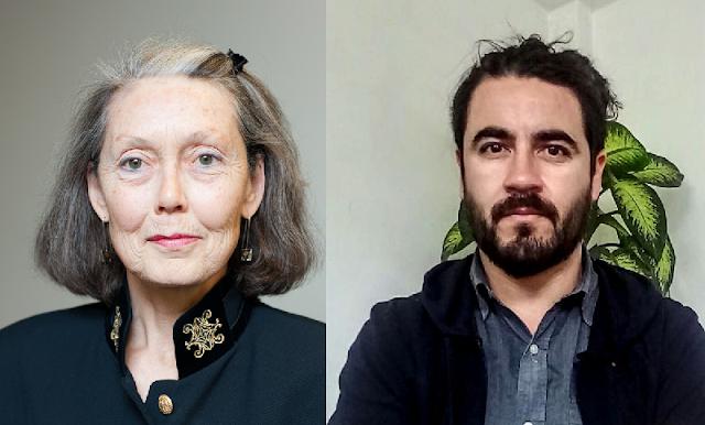 Anne Carson y Juan Malebrán, Merecedores del premio 2019 Internacional Manuel Acuña de Poesía en Lengua Española 2019 por Trayectoria y Obra Inédita, respectivamente.