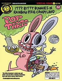 Itty Bitty Bunnies in Rainbow Pixie Candy Land: Pop Tarts