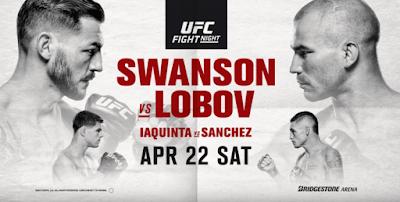 Ver UFC Fight Night 108: Swanson vs Lobov En vivo 22/04/2017
