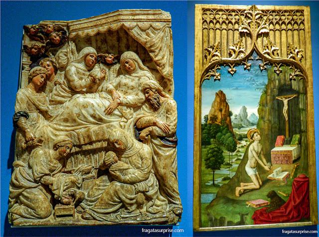 Peças da Coleção Gótica do MNAC de Barcelona