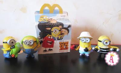 Обзор коллекции миньонов Happy Meal Minion Toys 2017
