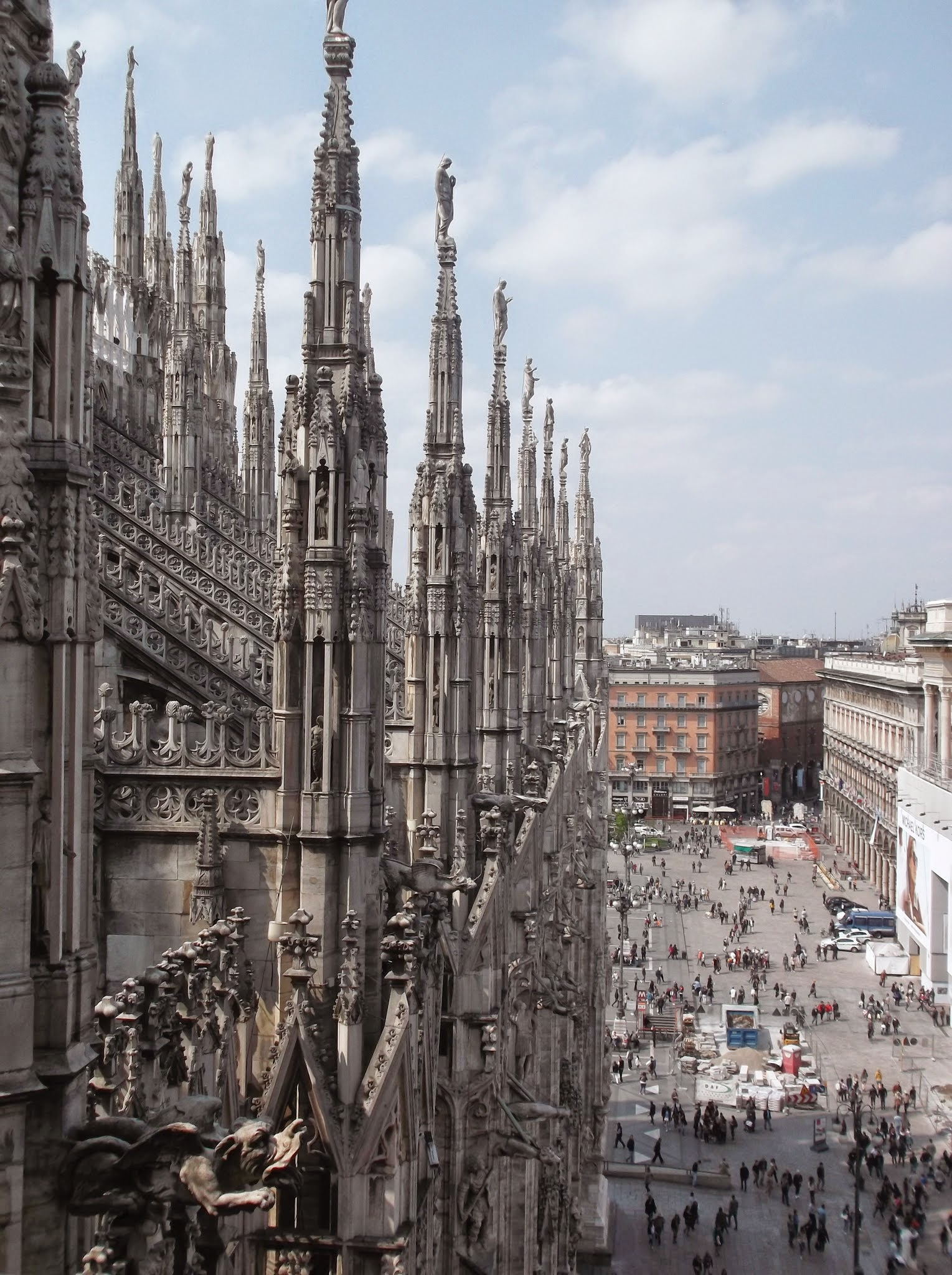 Exterior of The Duomo, Milan