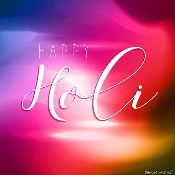 happy holi to love