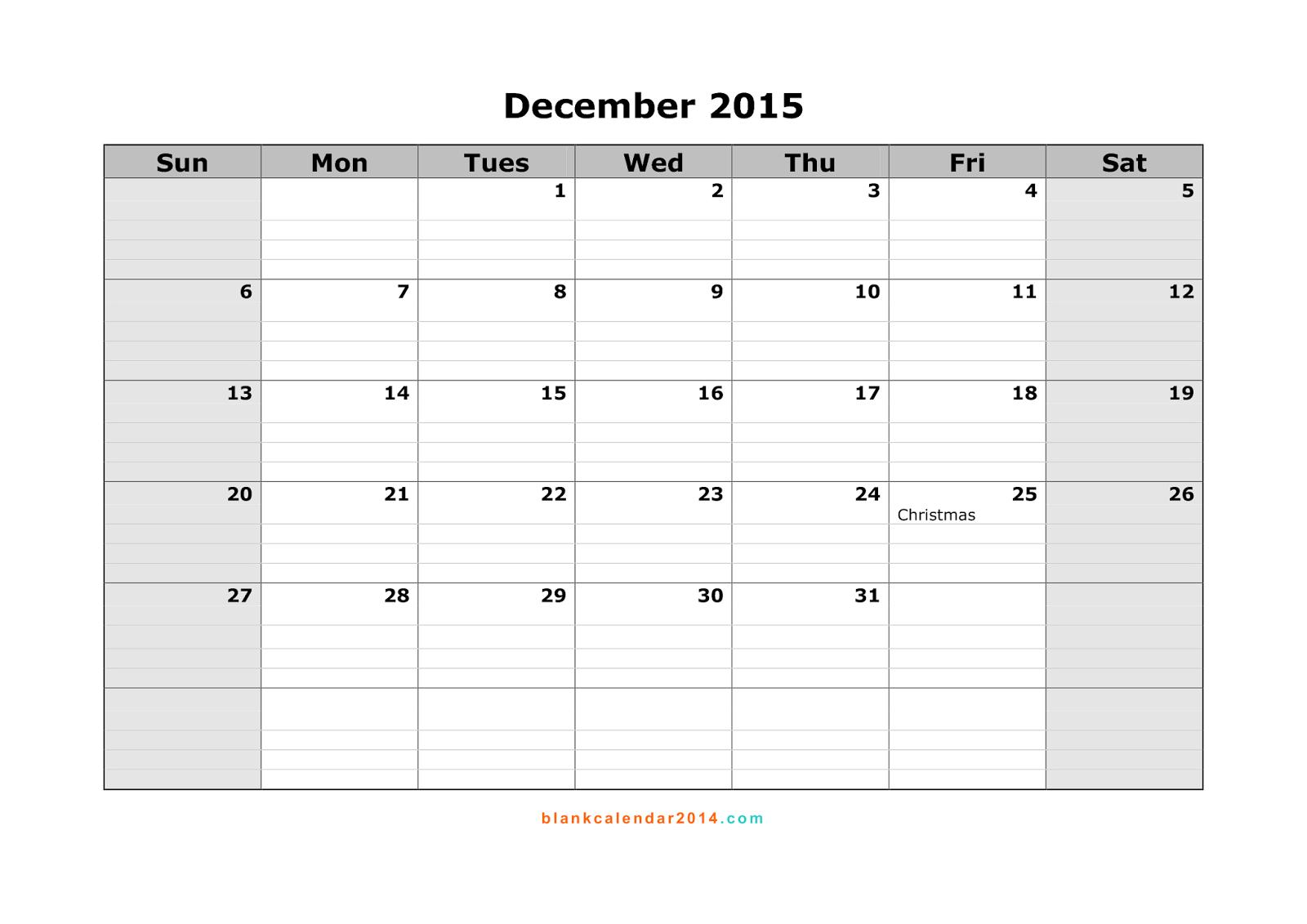 Free Printable Calendar Free Printable Calendar December