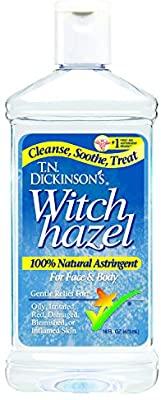 Witch hazel (gambar : Amazon)
