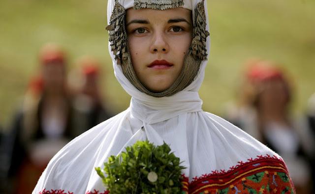 فستان الزفاف في بلغاريا