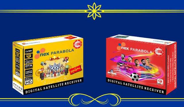 SW Nex Parabola Kuning dan Merah