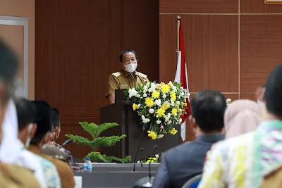 Gubernur Pimpin Rakor Rencana Pembangunan Kawasan Pariwisata Terintegrasi Pelabuhan Bakauheni