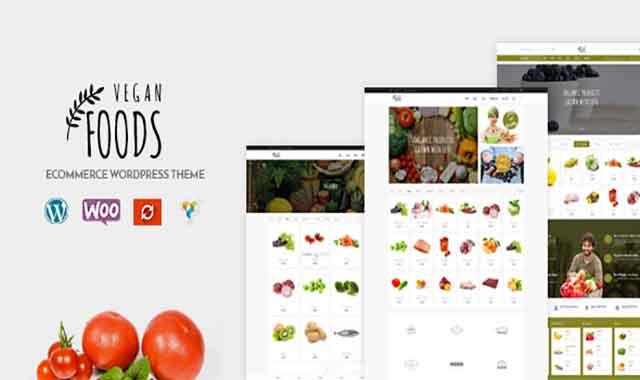 تحميل قالب ووردبريس Vegan Food 5.2.21 مجانا