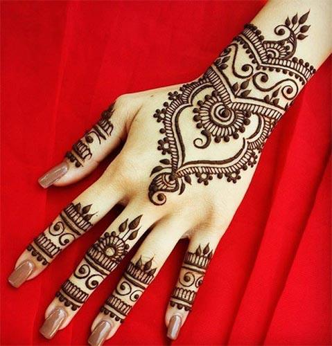 Ab Fashion Bangle Style Khaleeji Henna Design