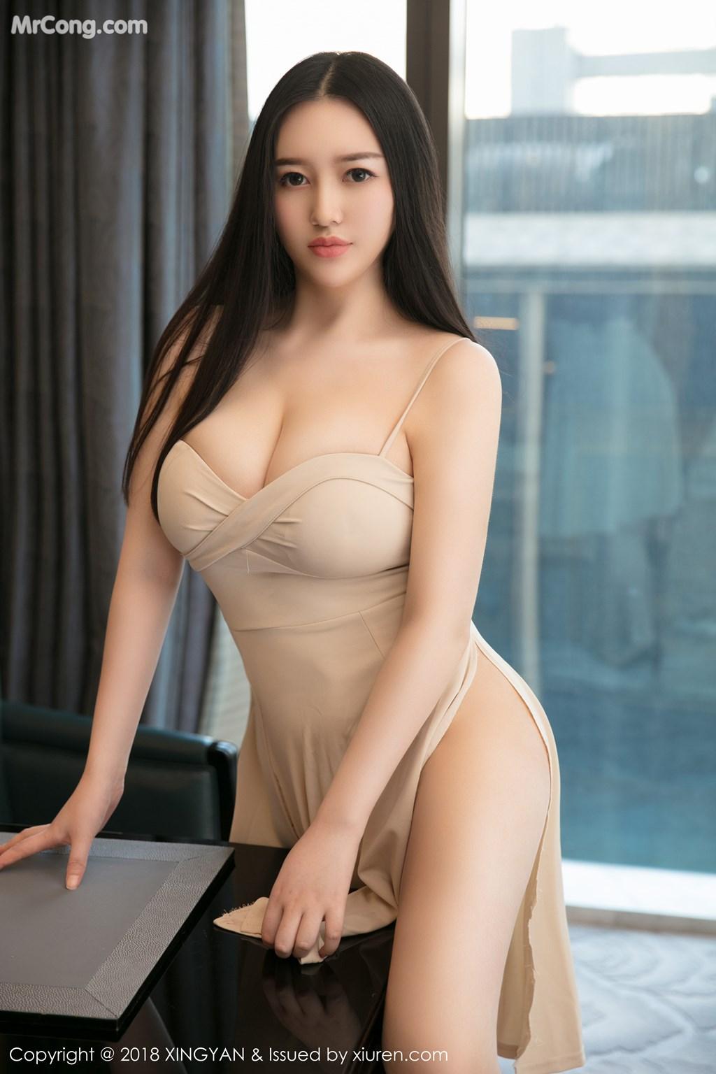 Image XingYan-Vol.031-En-Yi-MrCong.com-003 in post XingYan Vol.031: Người mẫu En Yi (恩一) (43 ảnh)