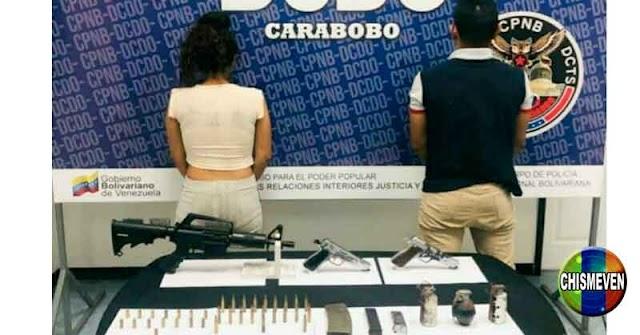 Dos miembros de la banda de El Koki fueron detenidos en Carabobo
