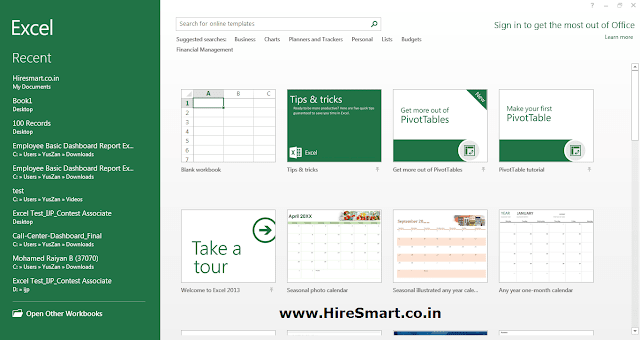 Microsoft Excel Parts And Their Functions (Excel User Interface)