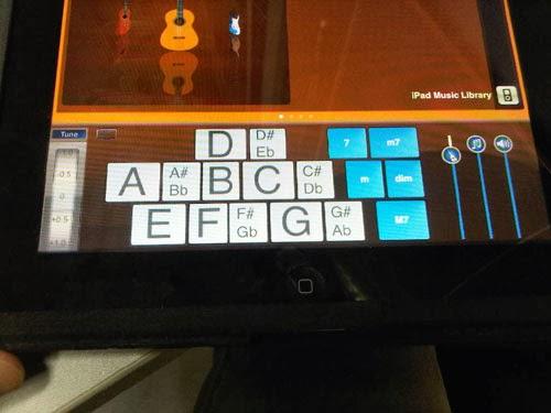 Cara memasang aplikasi Rhythm guitar pada tablet pc