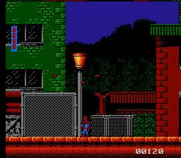 spiderman nes