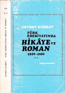Cevdet Kudret - Türk Edebiyatında Hikaye ve Roman Cilt 2 - 1859 - 1959 yılları