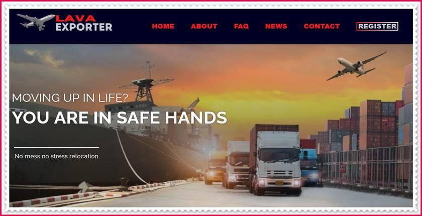 Мошеннический сайт lavaexporter.trade – Отзывы, развод, платит или лохотрон? Мошенники