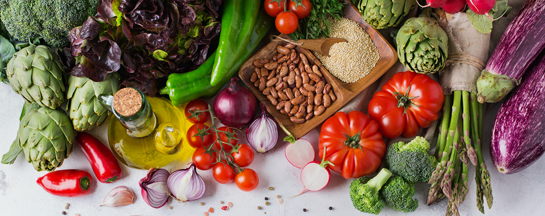 assorted veggies