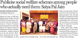 Publicise social welfare schemes among people who actually need them : Satya Pal Jain