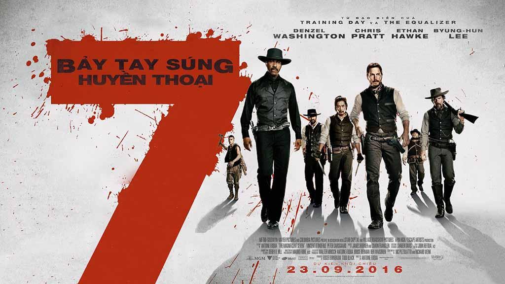 Xem Phim Bảy Tay Súng Huyền Thoại 2016