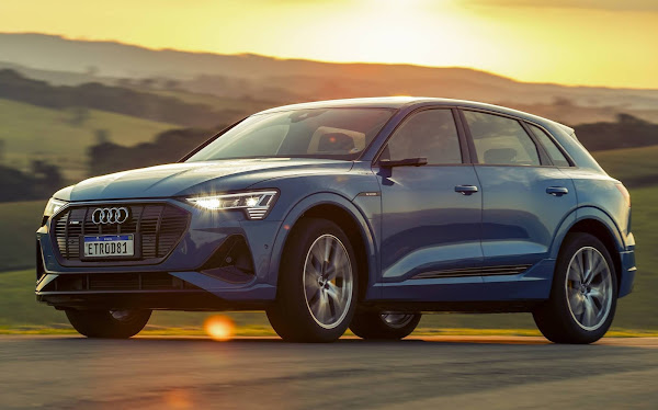 Audi e-Tron 2021 começa a ser vendido no Brasil - preços e novidades