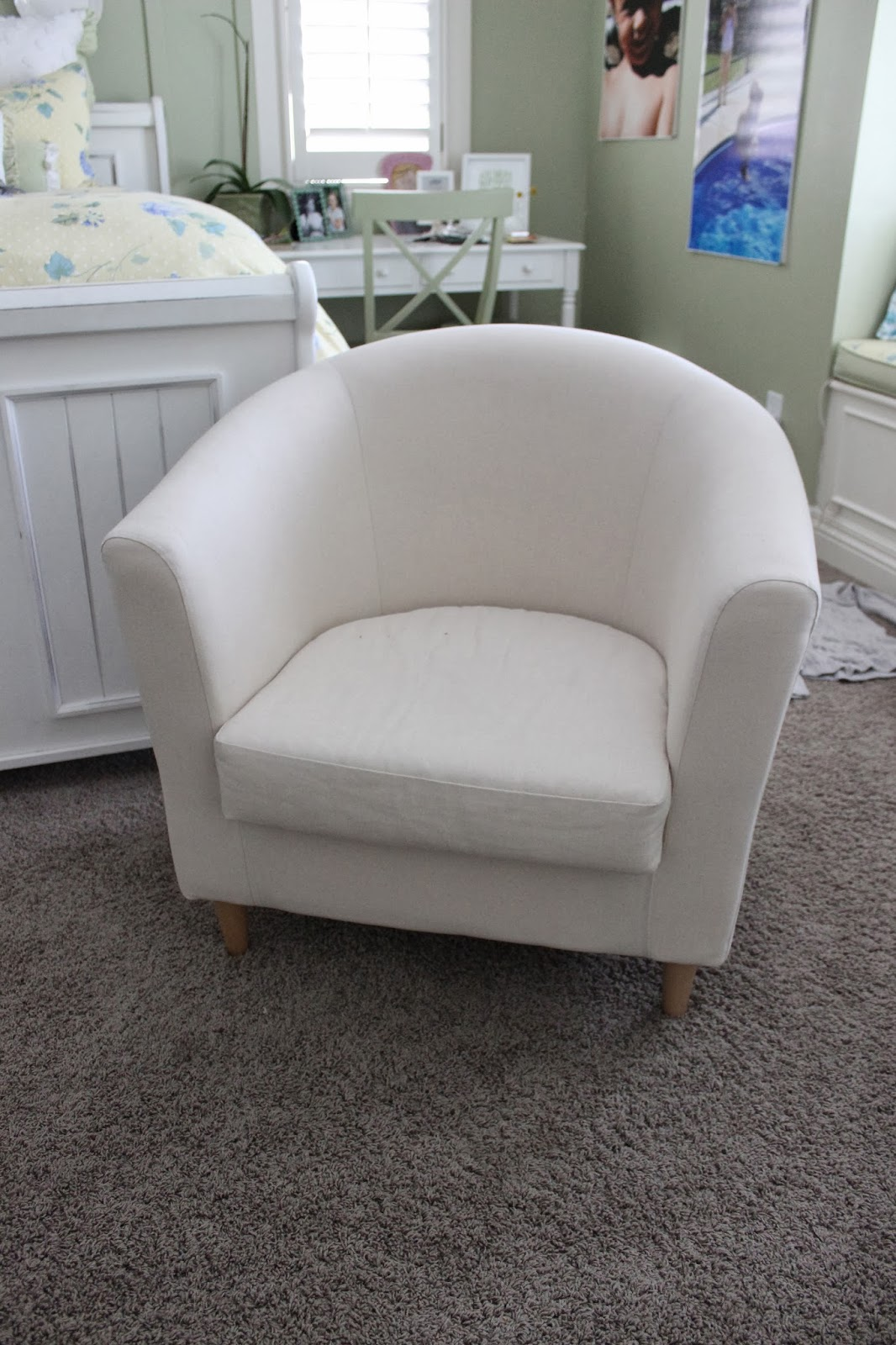 Slip Cover Chairs Custom Slipcovers By Shelley Pair Of Barrel Chairs