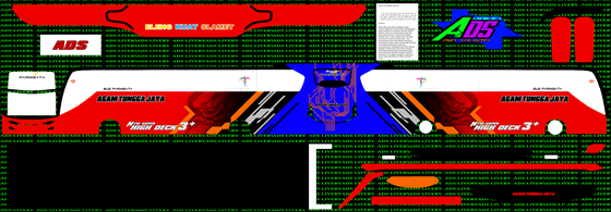 livery agam tungga jaya merah biru jb3+ shd mn wsp mods