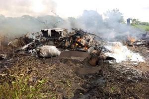 Eight die in South Sudan salary cargo plane crash