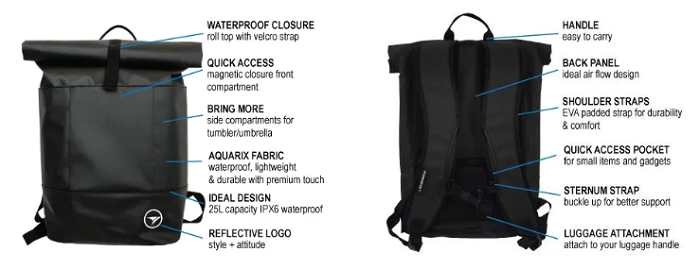 HyperGear Dry Pac Vertica-The Waterproof Bag For All Occasion (20% Discount Code Included)