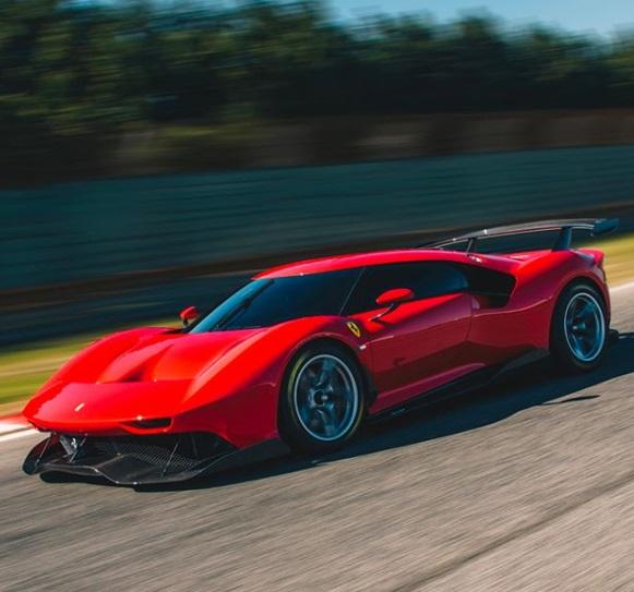 the Ferrari P80C