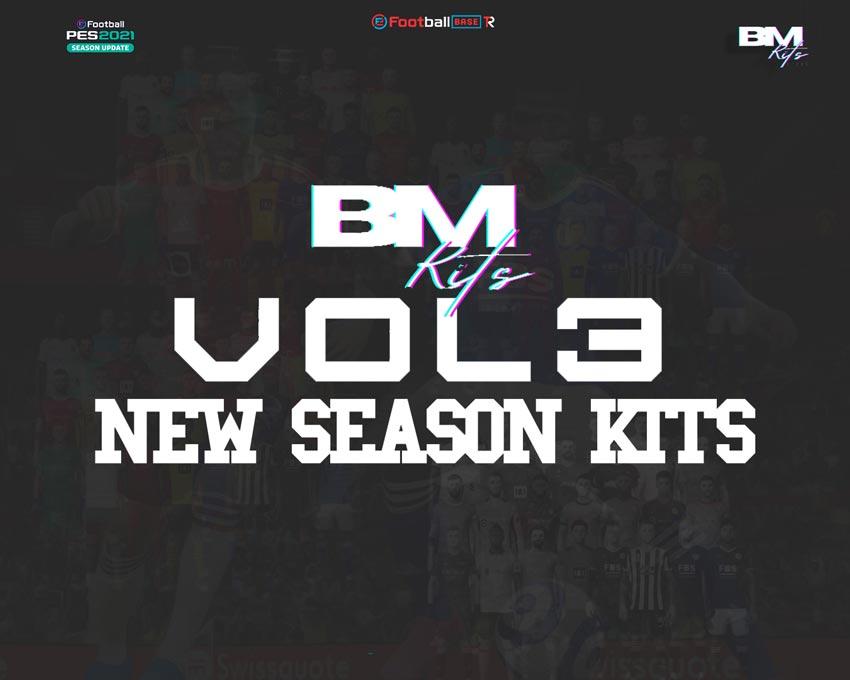 Kitpack Vol 3 Season 2021-2022 For eFootball PES 2021