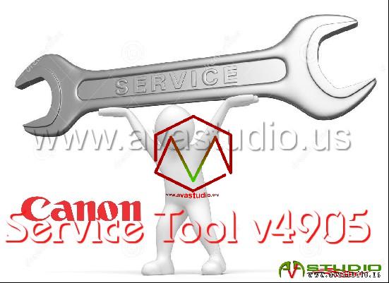 Canon Service Tool V.4905