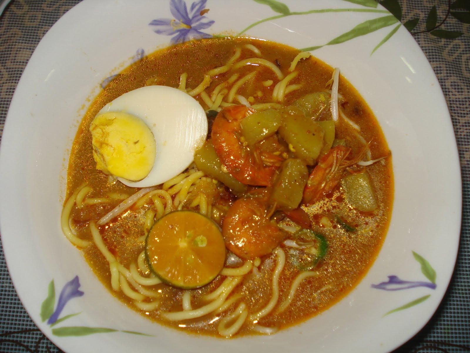 Resepi Mee Kari Bujang