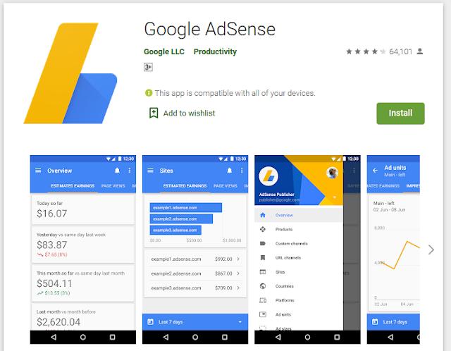 Saya tidak mau install applikasi Google Adsense