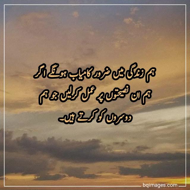Kamyabi Success Quotes in Urdu