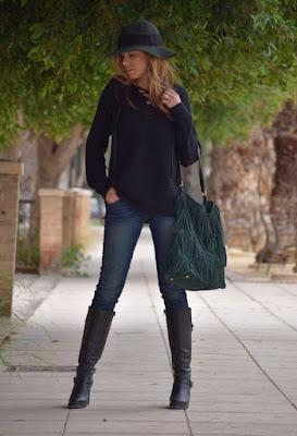 Botas de moda para mujer