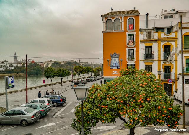 Sevilha: Triana e o Rio Guadalquivir