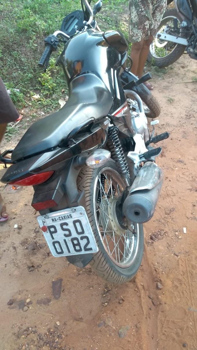 CAXIAS - Polícia Civil recupera moto roubada que era usada em assalto a postos de combustíveis