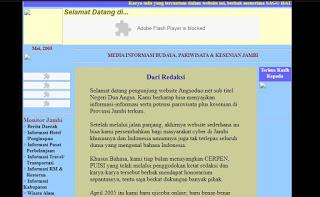 Sejarah Singkat Media Online di Jambi