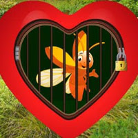 Play WowEscape-Love Golden Bee…