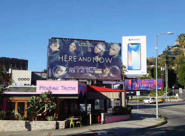 Here and Now season 1 billboard