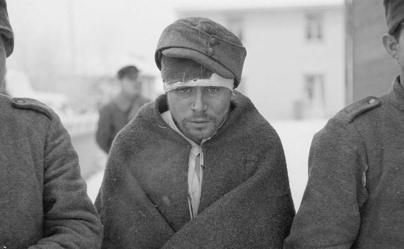 Russian prisoners of war.
