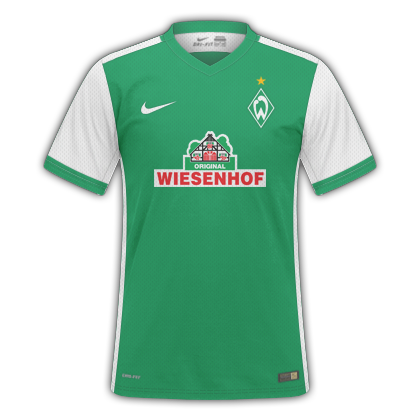 7fb6956a76 GT Camisas  Camisas Werder Bremem 2015   2016 - Home